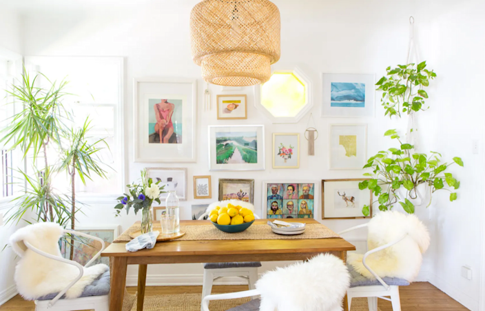 This dining room is light and airy without feeling generic or trying too hard to be trendy.