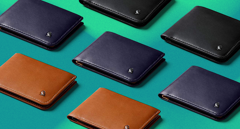 The Bellroy Hide & Seek wallet combines a slim profile with a classic design made from top-grain leather. (Photo: Bellroy/ Yahoo Lifestyle)