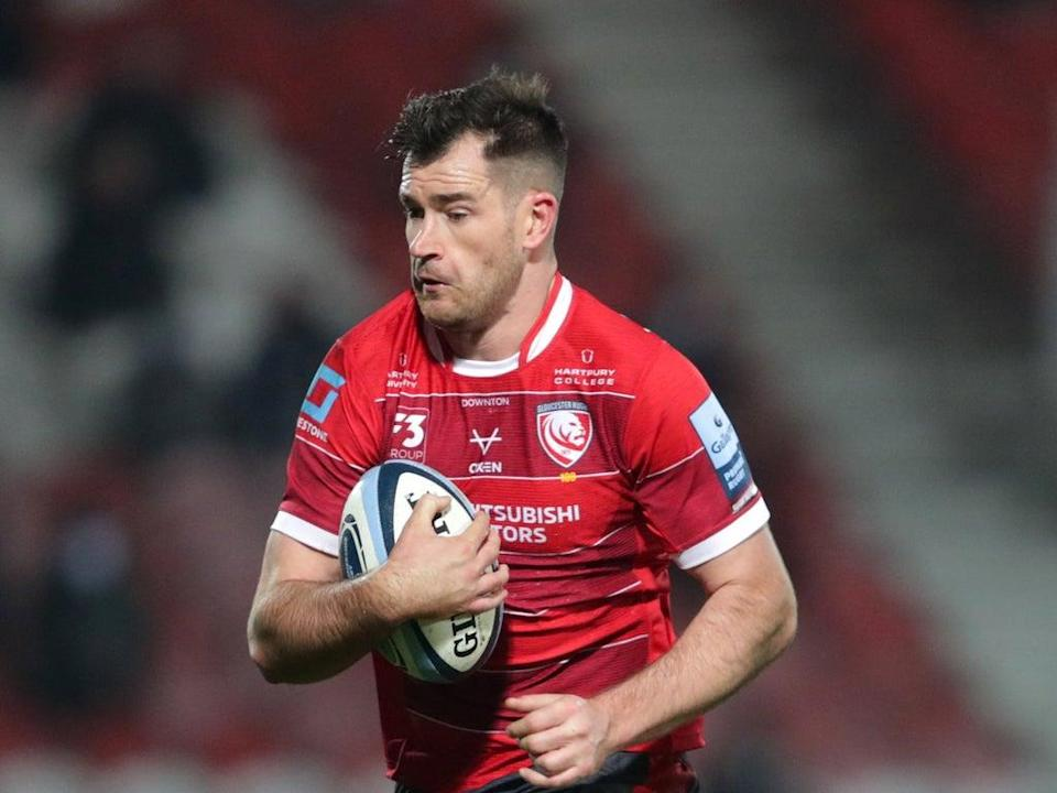 Gloucester centre Mark Atkinson has been called up by England (David Davies/PA) (PA Archive)