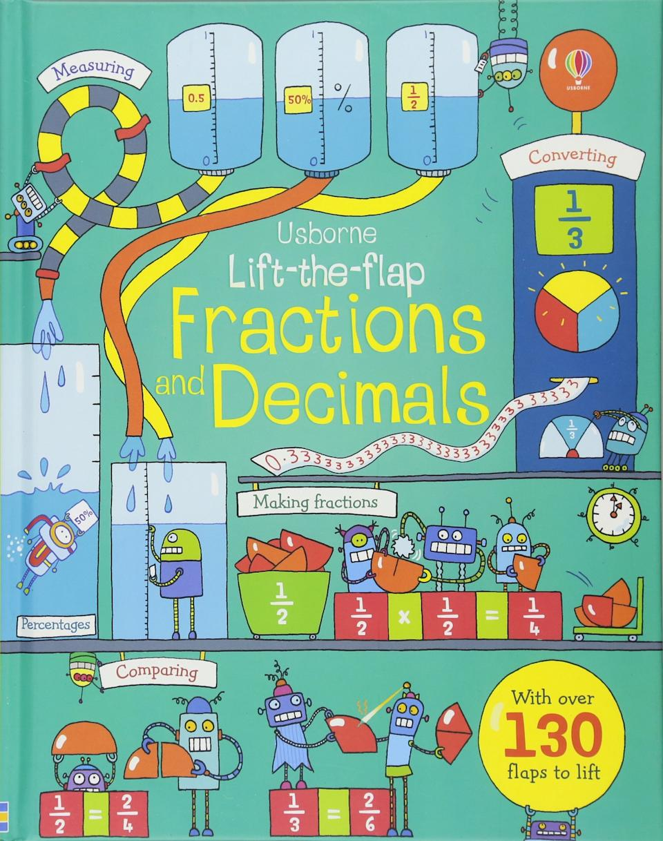 Lift-The-Flap Fractions and Decimals, S$26.60 (Photo: Amazon)