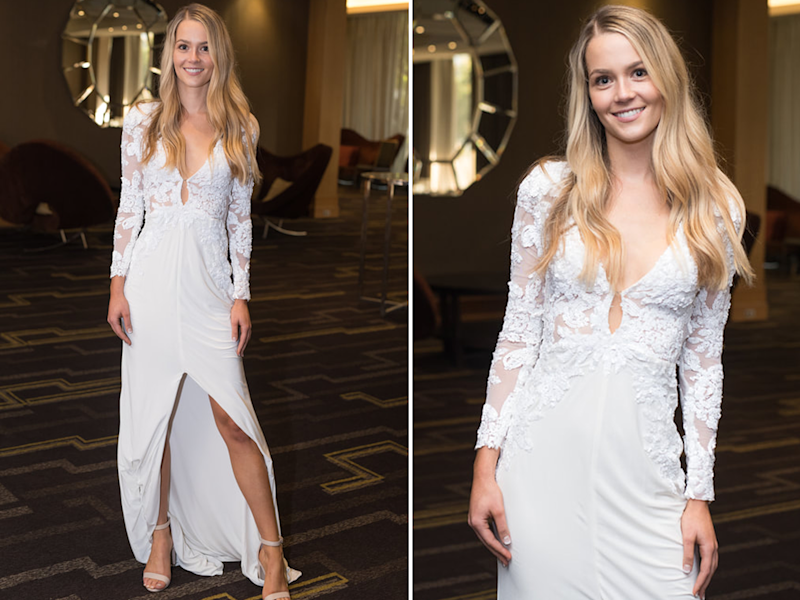 The Bachelor star Helena Sauzier at the Miss World Australia WA State Finals 2018