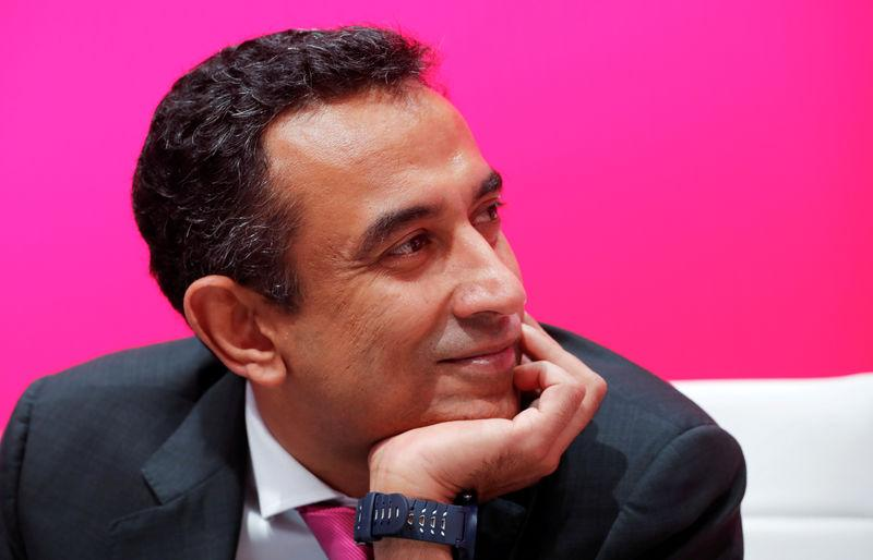 FILE PHOTO: German Telekom's Gopalan is pictured before the annual shareholders meeting of the telecommunications giant in Bonn