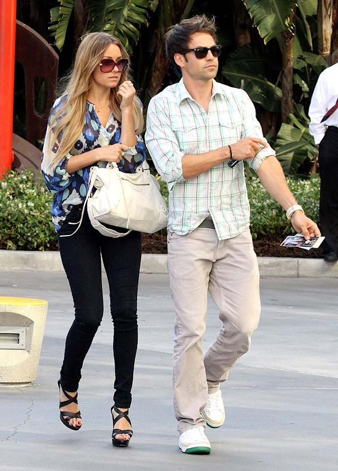 """After three years of a low-key relationship, former """"Hills"""" star Lauren Conrad and """"My Boys"""" actor Kyle Howard said goodbye. The reality star-turned-author and Howard broke up in June."""