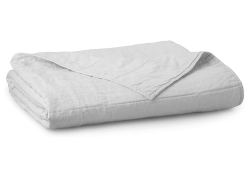 Welhome Relaxed Linen and Cotton Percale Quilt