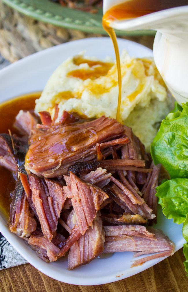 """<p>Use the slow cooker for this ham so you can free up oven space for other important things, like pie and biscuits.</p><p><em><a href=""""http://thefoodcharlatan.com/2015/02/27/easy-spicy-ham-slow-cooker-recipe/"""" rel=""""nofollow noopener"""" target=""""_blank"""" data-ylk=""""slk:Get the recipe from The Food Charlatan »"""" class=""""link rapid-noclick-resp"""">Get the recipe from The Food Charlatan »</a></em> </p><p><strong>RELATED: </strong><a href=""""https://www.goodhousekeeping.com/food-recipes/healthy/g1364/myplate-inspired-slow-cooker-dinners/"""" rel=""""nofollow noopener"""" target=""""_blank"""" data-ylk=""""slk:33 Healthy Slow Cooker Recipes That Basically Make Themselves"""" class=""""link rapid-noclick-resp"""">33 Healthy Slow Cooker Recipes That Basically Make Themselves</a></p>"""