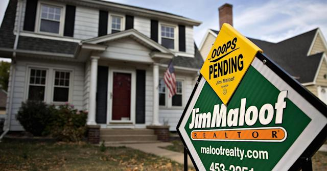 The residential real estate market can tell you a lot about the economy. Daniel Acker/Bloomberg/Getty Images.