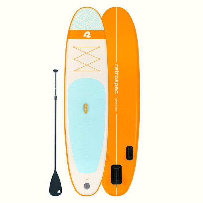 Retrospec Weekender Inflatable Stand Up Paddle Board.