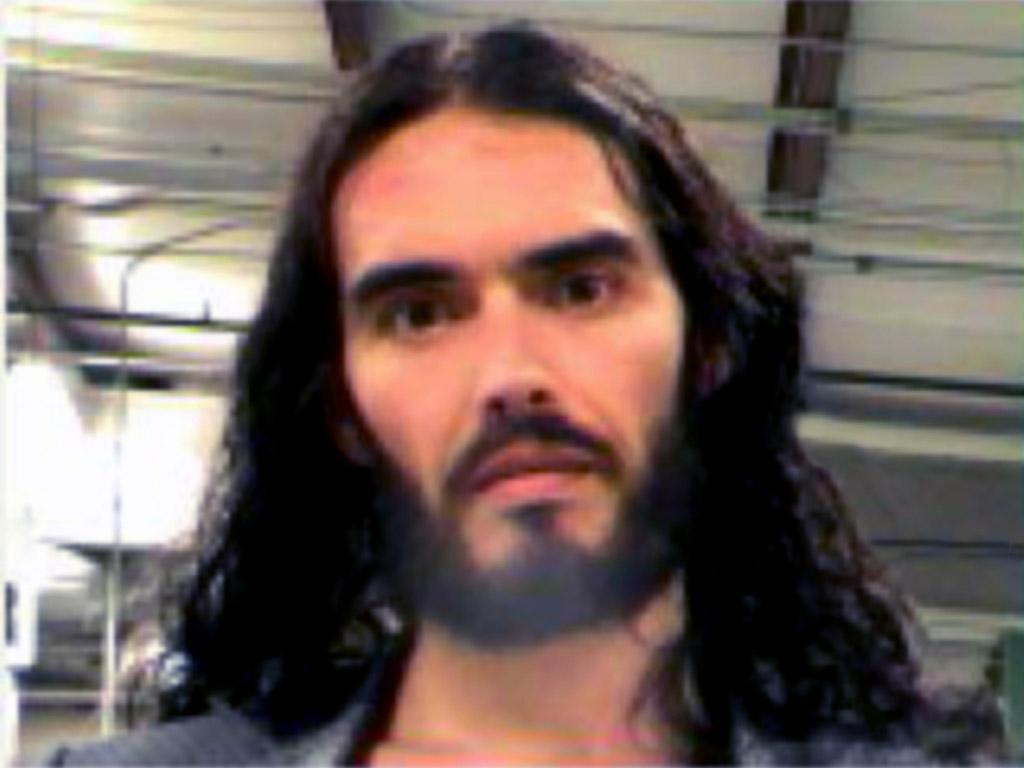 <b>Who:</b> Russell Brand<br /><b>What:</b> Arrested for grabbing a photographer's phone and throwing it through a window<br /><b>Where:</b> New Orleans, Louisiana <br /><b>When:</b> March 15, 2012 <br /><br />