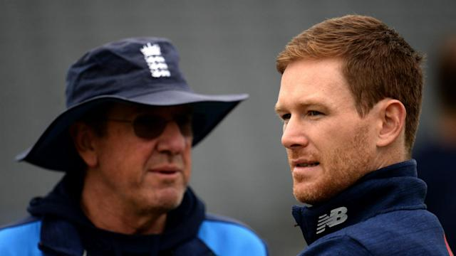 Trevor Bayliss will step down as England head coach after next year's Ashes, and Eoin Morgan praised his performance in the job.