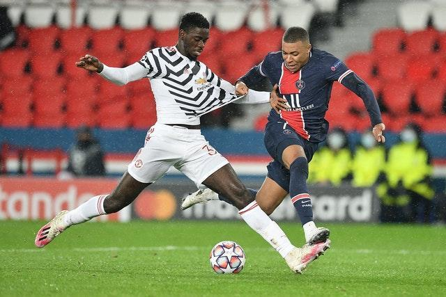 Axel Tuanzebe stepped up superbly at PSG