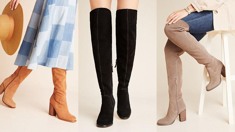 These over-the-knee boots are hot as hell and will make your fall even sexier.
