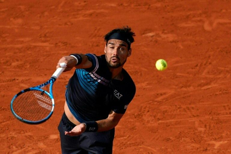Top seed Fognini out of Sardinia tennis with coronavirus