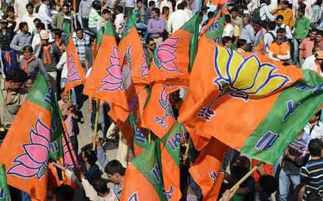 Celebrations break out at UP BJP office; silence at SP, Congress headquarters