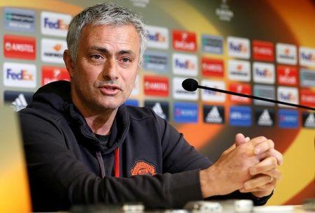 Manchester United news conference - UEFA Europa League quarterfinal first leg