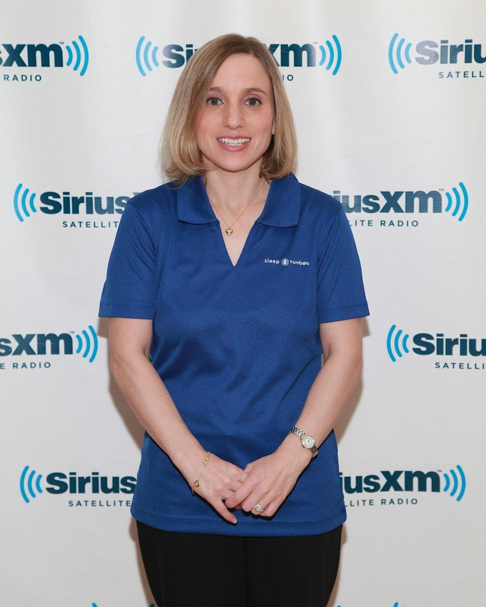 """<p>After her 1996 Olympic appearance, Kerri Strug became one of the most popular athletes in America. Since retiring from the sport, Strug has worked in <a href=""""https://www.sportscasting.com/where-is-olympic-gymnast-kerri-strug-now-and-what-is-her-net-worth/"""" rel=""""nofollow noopener"""" target=""""_blank"""" data-ylk=""""slk:several government positions"""" class=""""link rapid-noclick-resp"""">several government positions</a>, most recently at the Department of Justice, and splits her time between Arizona and Washington D.C. In 2020, it was announced that the former Olympian's biography was being <a href=""""https://olympics.nbcsports.com/2020/02/17/kerri-strug-olivia-wilde-gymnastics-movie/"""" rel=""""nofollow noopener"""" target=""""_blank"""" data-ylk=""""slk:adapted into a biopic film"""" class=""""link rapid-noclick-resp"""">adapted into a biopic film</a>. </p>"""