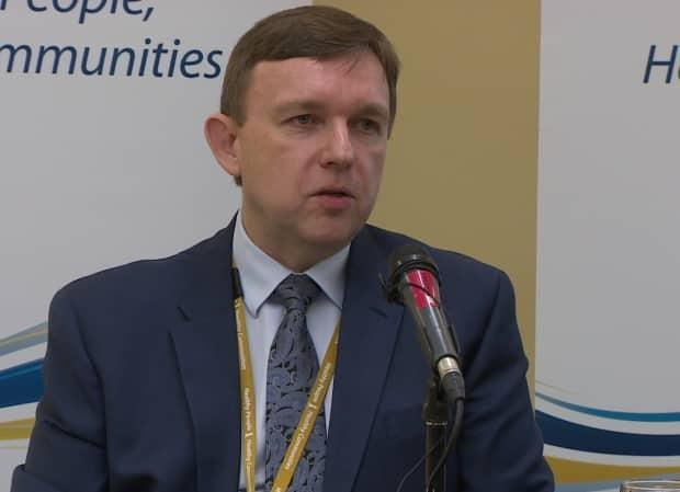 David Diamond, Eastern Health's president and chief executive officer, said St. Clare's Hospital is still safe.  (CBC - image credit)