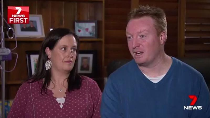 Harry's parents, Trevor and Eileen chose to speak out about their young son's journey in life. Source: 7 News