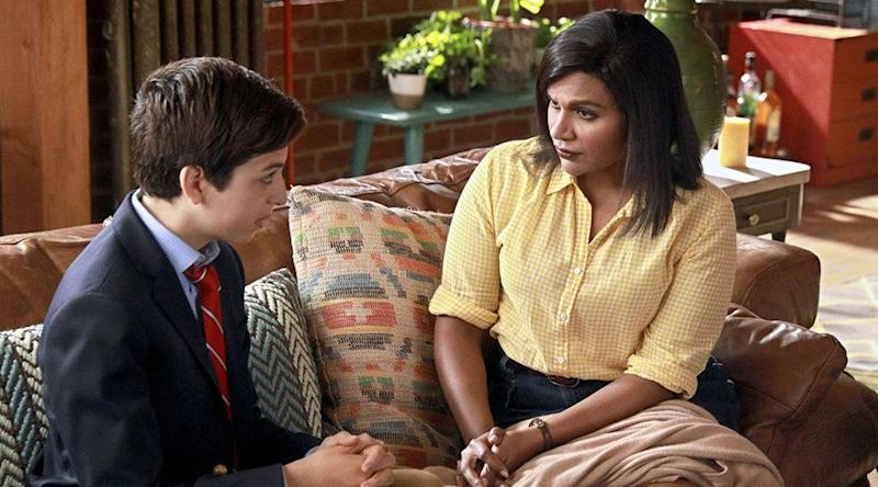 "Mindy Kaling's ""Champions"" on NBC and Hulu."