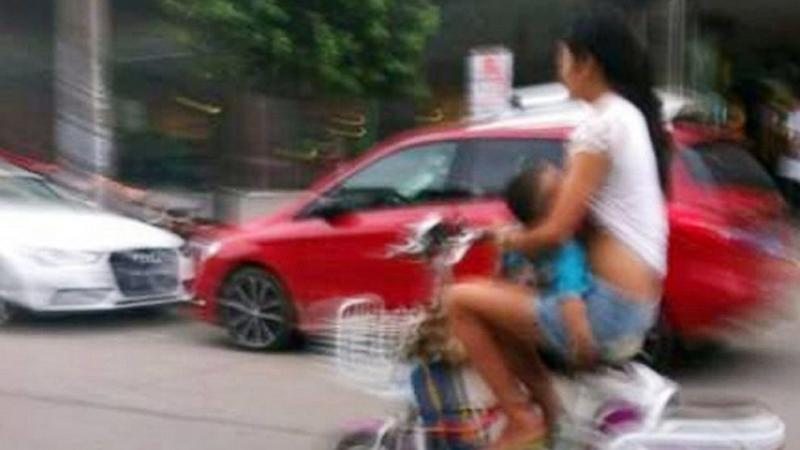 Woman Warned About Riding While Breastfeeding