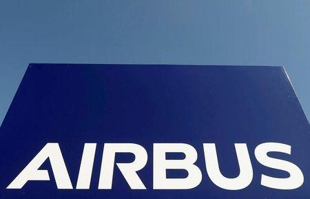 FILE PHOTO: The logo of Airbus Group is seen on the company's headquarters building in Toulouse