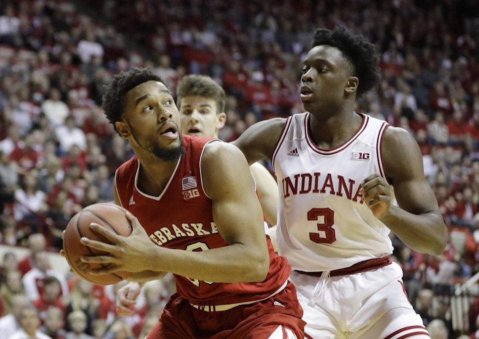 Bipolar Indiana continues to alternate marquee wins and head-scratching losses (AP).