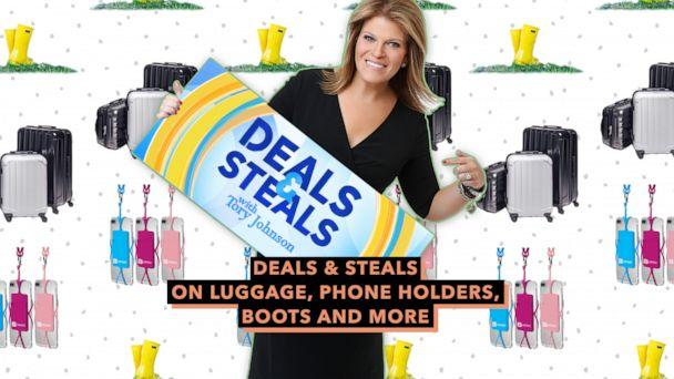 PHOTO: Deals & Steals on Luggage, Phone Holders, Boots and More (ABC News Photo Illustration, Gear Beast, Genius Pack, Roma)