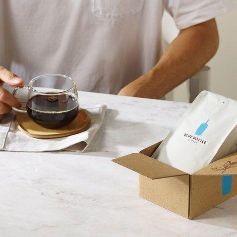 """Seriously, they'll love it. <a href=""""https://bluebottlecoffee.com/at-home"""" target=""""_blank"""">Shop it here</a>."""