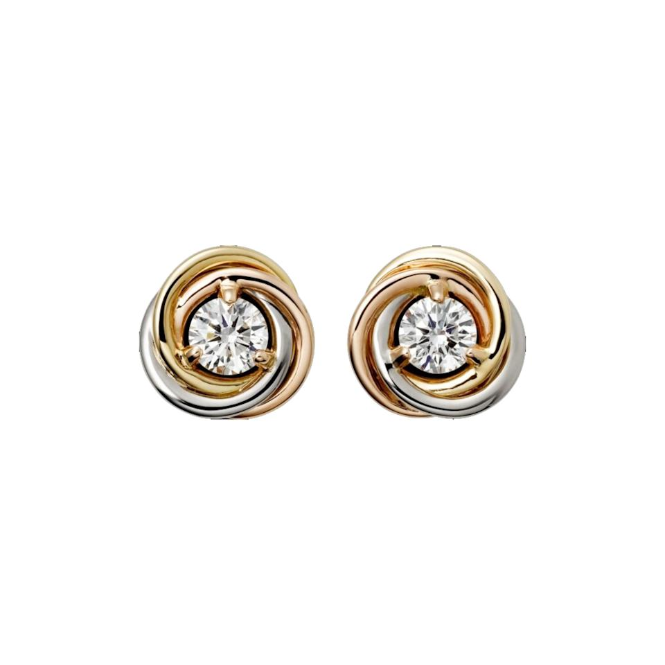 "Cartier's <a href=""https://www.cartier.com/en-us/collections/jewelry/categories/earrings/trinity-de-cartier/b8045300-trinity-de-cartier-earrings.html"">Trinity earrings</a> are the jewelry equivalent to your favorite song—they make everything better and never get old."