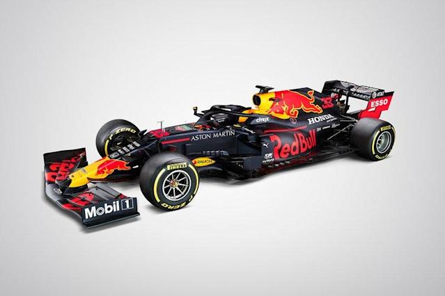 """Red Bull Racing RB16 <span class=""""copyright"""">Red Bull Content Pool</span>"""