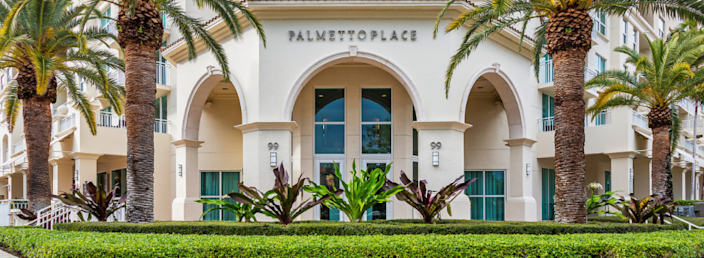 Palmetto Place association unsuccessfully sought to obtain an emergency injunction to keep a couple out of the common areas of the nine-story, 255-unit building.