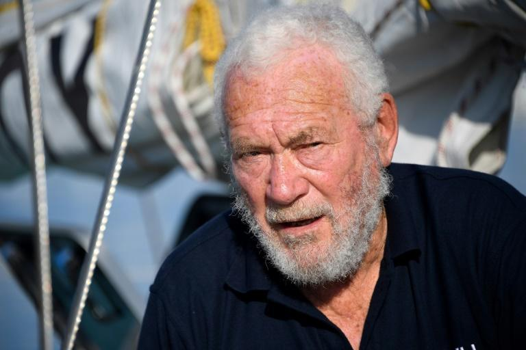 When legendary British yachtsman Robin Knox-Johnston (pictured here in 2018) circumnavigated the globe single-handed in 1968/69 it took him 311 days