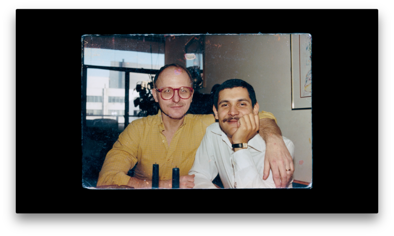 "The film, ""Memories of a Penitent Heart,"" examines the life of Miguel Dieppa (right), who died in 1987.   (American Documentary Inc)"