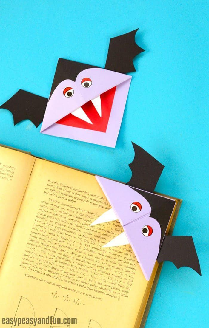 "<p>Sink your teeth into <a href=""https://www.countryliving.com/life/entertainment/g22249376/halloween-books-for-kids/"" rel=""nofollow noopener"" target=""_blank"" data-ylk=""slk:best Halloween books for kids"" class=""link rapid-noclick-resp"">best Halloween books for kids</a>, then mark the spot where you left off with a fantastically batty DIY bookmark. </p><p><strong>Get the tutorial <a href=""https://www.easypeasyandfun.com/vampire-corner-bookmark/"" rel=""nofollow noopener"" target=""_blank"" data-ylk=""slk:Easy Peasy and Fun"" class=""link rapid-noclick-resp"">Easy Peasy and Fun</a>.</strong></p><p><strong><a class=""link rapid-noclick-resp"" href=""https://www.amazon.com/DECORA-Pieces-Wiggle-Googly-Self-adhesive/dp/B01LWIYJH3/?tag=syn-yahoo-20&ascsubtag=%5Bartid%7C2139.g.34440360%5Bsrc%7Cyahoo-us"" rel=""nofollow noopener"" target=""_blank"" data-ylk=""slk:SHOP GOOGLY EYES"">SHOP GOOGLY EYES</a><br></strong></p>"