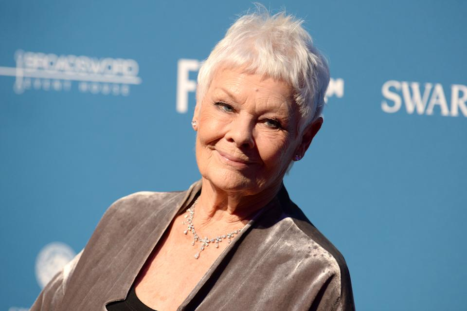 Judi Dench has been losing her eyesight for years. (EMPICS Entertainment)