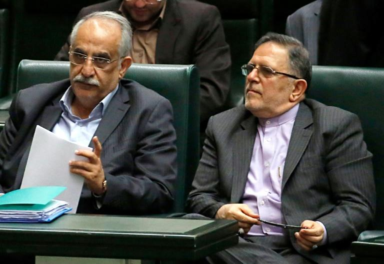 U.S. hits head of Iran's central bank with terror sanctions