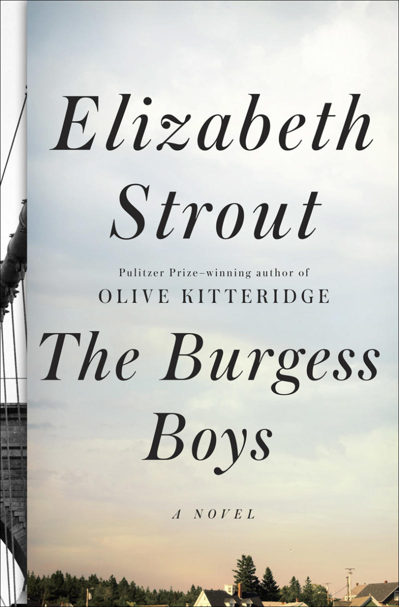 """This book cover image released by Random House shows """"The Burgess Boys,"""" by Elizabeth Strout. (AP Photo/Random House)"""