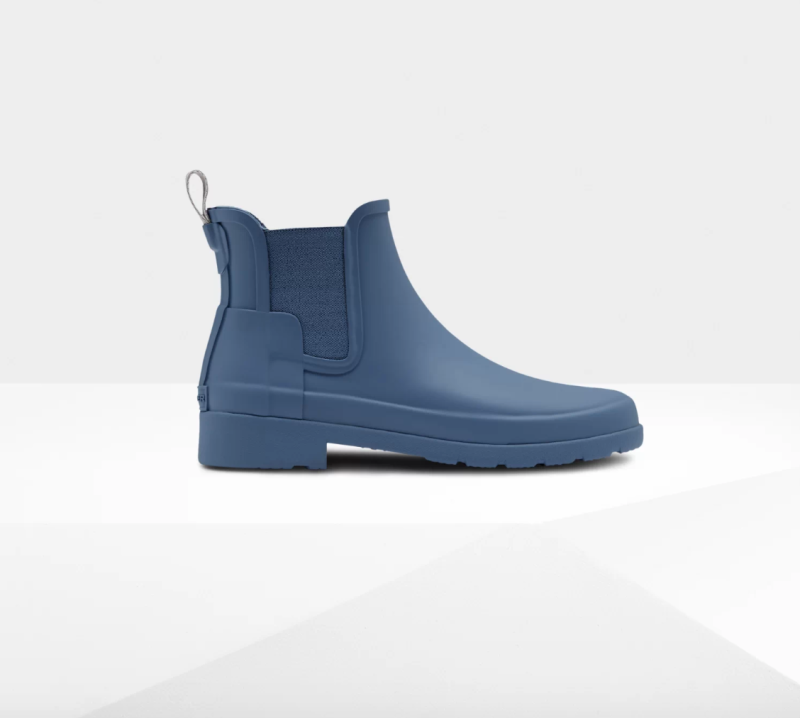 Women's Refined Slim Fit Chelsea Boots. Image via Hunter.