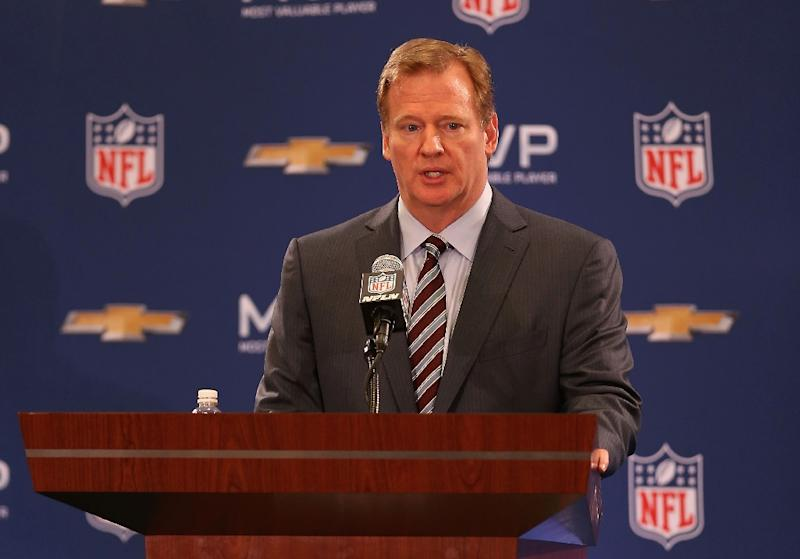 NFL Commissioner Roger Goodell believes new technology is opening the door for people to watch the game in ways that defy conventional ratings monitoring (AFP Photo/Christian Petersen)