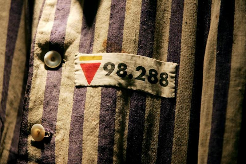 Concentration camp uniform Holocaust