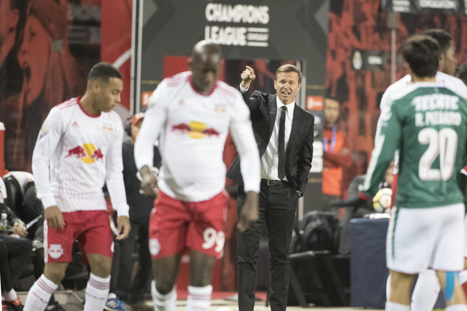 Four months after leaving the New York Red Bulls for Germany, Jesse Marsch is still keeping a close eye on his former team. (Tim Clayton/Corbis via Getty Images)