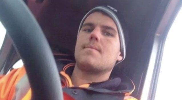 Matthew O'Connor, 28, was driving a Holden ute at West Footscray in June 2016. Photo: 7 News