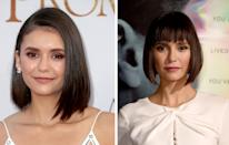 <p><strong>When: </strong>September 27<br>Nina debuted a sharp 1920s style bob at the premiere of her latest film, 'Flatliners'.<br><i>[Photo: Getty]</i> </p>