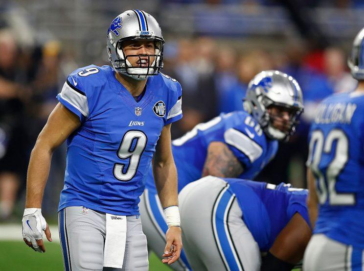 Matthew Stafford is a bankable 4000-yard QB.