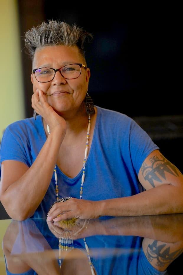 Janet Rogers is co-producing what she believes to be the first festival in Canada to focus on Haudenosaunee storytelling this month. (Ian Maracle - image credit)