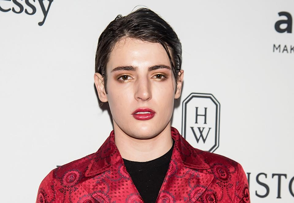 Harry Brant attends 7th Annual amfAR Inspiration Gala New York at Skylight at Moynihan Station on June 9, 2016 in New York City.  (Photo by Gilbert Carrasquillo/FilmMagic)