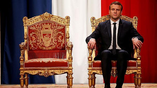In his first two months as president of France Emmanuel Macron's feet haven't touched the ground.       Since he took over from Francios Hollande the new French leader has packed in 11 visits to seven countries and met heads of state including the likes of Russian President Vladimir Putin, German Chancellor Angela Merkel and President of Turkey Recep Tayyip Erdoğan, amongst others.  Mr Macron also received Donald Trump and his wife Melania on an official visit to Paris and proved a match for the US president's firm handshake.  During the visit, a French army band performed a rousing medley of Daft Punk songs for the two leaders, which Mr Macron seemed more enthusiastic about than his American counterpart.  The Amiens native has also shown off his sparring skills with a boxing partner on June 24, 2017, at an event aimed at promoting Paris'  bid to host the 2024 Olympic and Paralympic Games.
