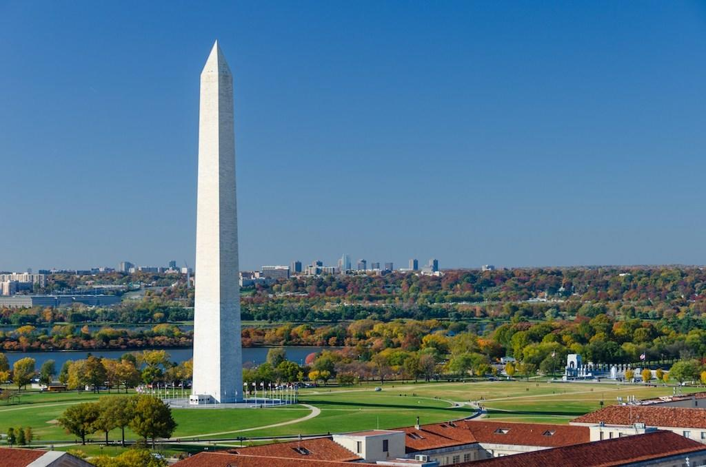 """U.S. landmarks, generally speaking, are pretty straightforward. In fact, you can usually gather all of what they're about right from the name. (The Washington Monument celebrates <strong>George Washington</strong>, the Jefferson Memorial celebrates <strong>Thomas Jefferson</strong>, et cetera, et cetera.) But if you dig a little deeper, you'll find that our country's statues, monuments, and memorials are imbued with secret symbols.  For instance, did you know that our nation's tallest tower has an exact height that's steeped in history? Or that the highest court in the land has a hidden bust of <a href=""""https://bestlifeonline.com/us-president-facts/?utm_source=yahoo-news&utm_medium=feed&utm_campaign=yahoo-feed"""">a U.S. president</a> on it? Or that Lady Liberty's construction might be a reference to pirates? If those surprised you, you'll love all these other secret symbols about our nation's most famous landmarks. We assure you, the findings are nothing short of monumental.      <div class=""""number-head-mod number-head-mod-standalone"""">         <h2 class=""""header-mod"""">                     <div class=""""number"""">1</div>             <div class=""""title"""">The height of One World Trade Center is tied to a specific year in history. </div>                     </h2>     </div>"""