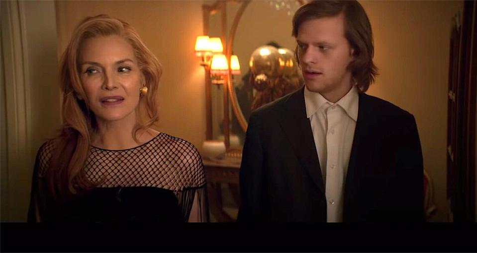 Michelle Pfeiffer Is a Penniless Socialite with Lucas Hedges in French Exit Trailer