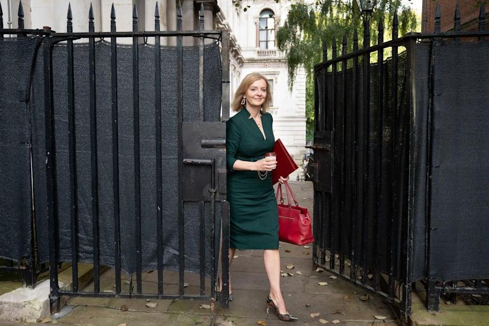 Reports claim both Liz Truss and Dominic Raab have staked a claim to the country manor (Stefan Rousseau/PA) (PA Wire)