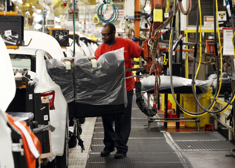 US factory output rose in January for 2nd straight month